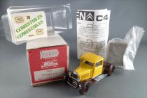 Mini Racing MVI Ref VR7 Citroën C 4 pick-up Comestibles White Metal Kit 1:43 Mint Unbuilt7
