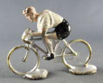 Minialuxe - Cycliste plastique - Equipe Blanche