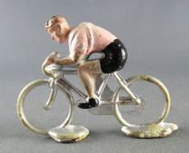 Minialuxe - Cycliste plastique - Equipe Rose