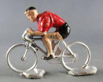 Minialuxe - Cycliste plastique - Equipe Rouge