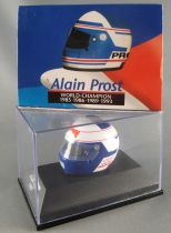 Minichamps F1 Helmet Alain Prost 1987 World Champion 1:8