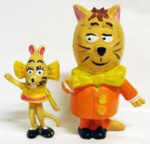 Minizup and Matouvu - set of 2 Jim figures