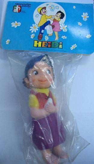 Mint in Bag Heidi 7\'\' Vinyl  Figure Fabian Plastica