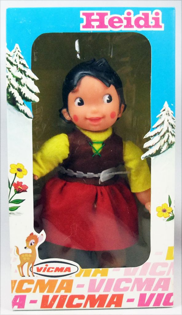 Mint in box Heidi 8\'\' Doll  Vicma