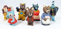 Misha - Série de 7 figurines PVC - M+B Maia & Borges 1979