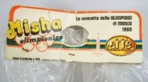 Misha, Mascotte Olympique - Peluche 30cm Effe (Italie) 1980 (neuve sous sachet) 04