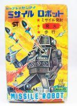 Missil Robot - Robot Marcheur Mécanique (Wind-Up) - TPS (Toplay Ltd) Japon 01
