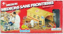 Mission Médecins Sans Frontières - Tente démontable avec chirurgien - Accessoire pour figurine 10cm Berchet France
