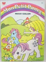 Mon Petit Poney - Album à colorier Whitman