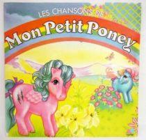 Mon Petit Poney - Disque 33T - Les Chansons de Mon Petit Poney (AB Productions 1987)