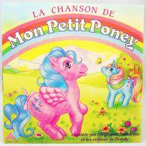 Mon Petit Poney - Disque 45T - La Chanson de Mon Petit Poney - AB Productions 1986