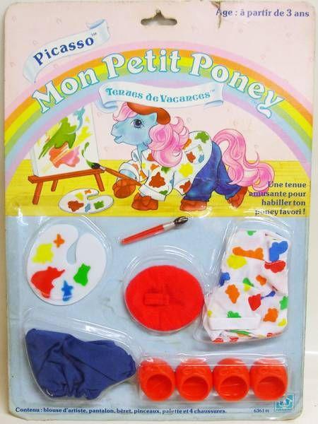 Mon Petit Poney - Hasbro France -  Tenues de Vacances - Picasso