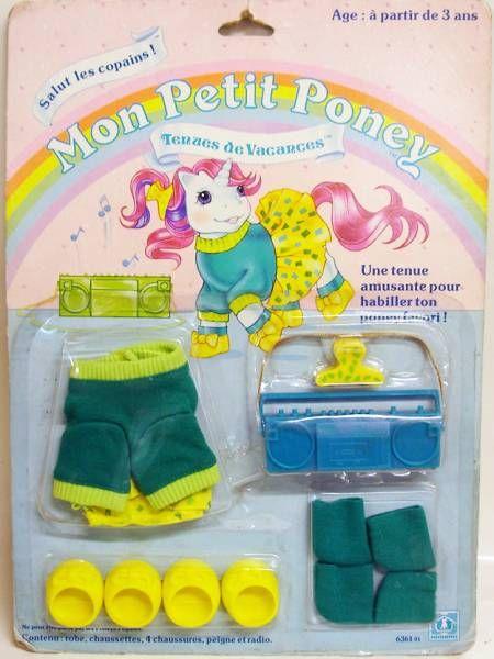 Mon Petit Poney - Hasbro France -  Tenues de Vacances - Salut les Copains!