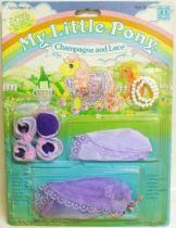 Mon Petit Poney - Hasbro UK -  Garde Robe Glamour et Paillettes - Champagne et Rubans