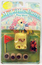 Mon Petit Poney - Hasbro USA -  Garde Robe - Pom Pom Poney