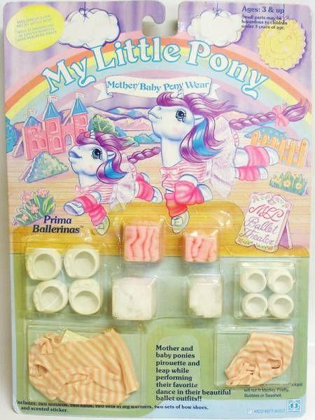 Mon Petit Poney - Hasbro USA -  Garde Robe Maman et Bébé - Ballerines