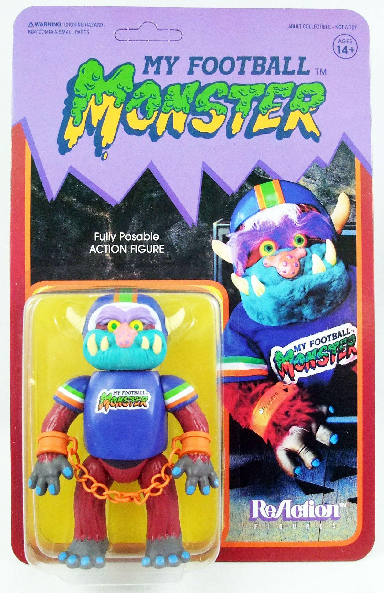 Mon Pote Le Monstre - Super7 ReAction Figure - My Football Monster