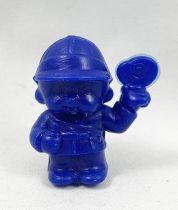 Monchichi - Bonux - Monchichi Butterfly hunter blue figure