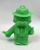 Monchichi - Bonux - Monchichi Cowboy green figure
