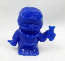 Monchichi - Bonux - Monchichi Frogman blue figure