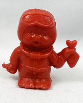 Monchichi - Bonux - Monchichi Frogman red figure