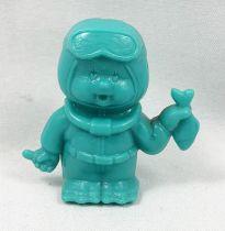 Monchichi - Bonux - Monchichi Frogman turquoise figure