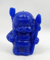 Monchichi - Bonux - Monchichi Indian blue figure