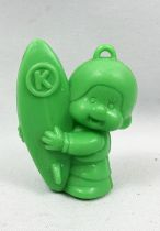 Monchichi - Bonux - Monchichi Surfer green figure