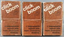 Mondial Molgora 240 Click Boom Firecracker Caps 3 Boxes with 8 Strips x 10 Shots