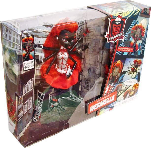 Monster High - Wydowna Spider Webarella - Mattel