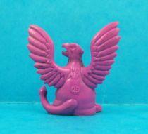 Monster in My Pocket - Matchbox - Series 1 - #05 Griffin (violet)