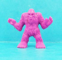 Monster in My Pocket - Matchbox - Series 1 - #17 Bigfoot (mauve)