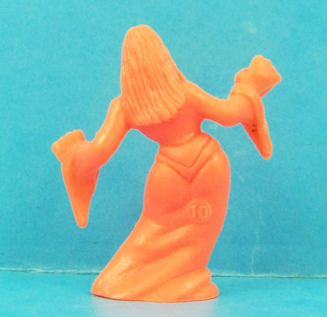 Monster in My Pocket - Matchbox - Series 1 - #36 Vampiress (orange)