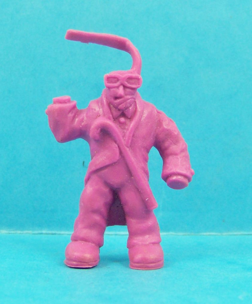 Monster in My Pocket - Matchbox - Series 1 - #46 Invisible Man (violet)