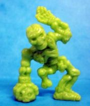 Monster in My Pocket - Matchbox - Series 1 - #47 Skeleton (vert)
