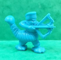 Monster in My Pocket - Matchbox - Series 2 - #55 Scorpion Man (Clear Blue)
