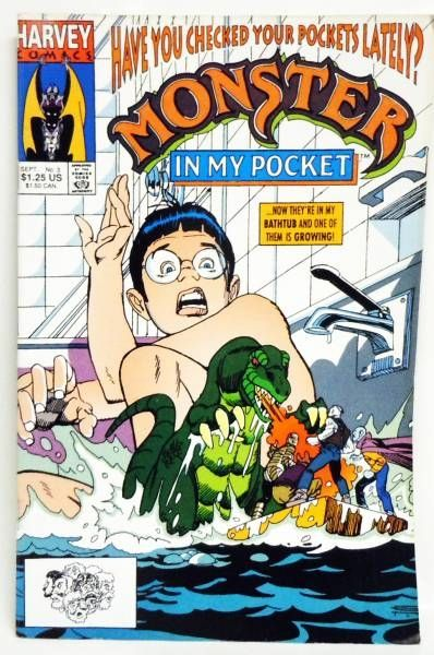 Monsters in My Pocket - Harvey Comics - Monsters in My Pocket (4 Issues Mini-Series)