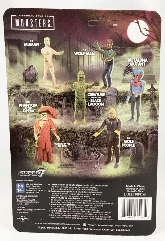 Monstres Studios Universal - ReAction Figure - La Momie