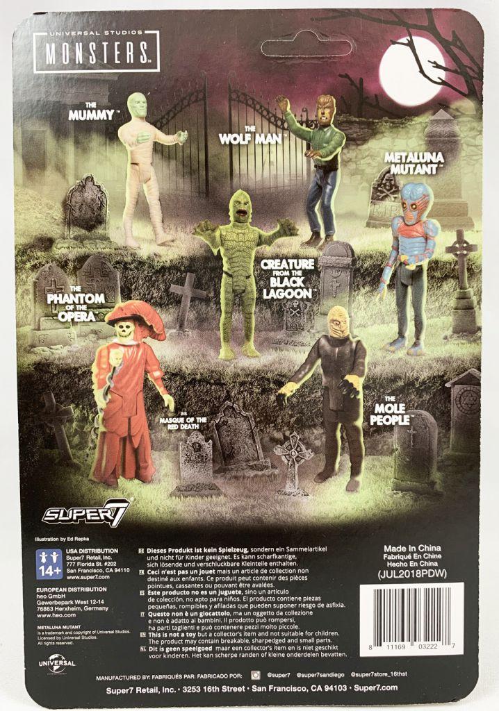 Monstres Studios Universal - ReAction Figure - Les Survivants de l\'Infini