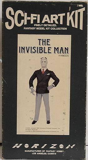 Monstres Universal Studios - Horizon - Kit vinyl - The Invisible Man