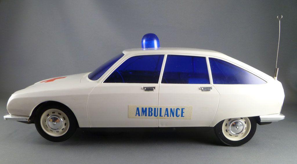 Mont Blanc 302402 Citroen GS Ambulance à Piles Gyrophare Sirene Boite d\'origine