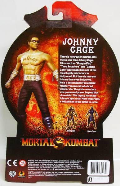 Mortal Kombat - Johnny Cage - Jazwares 6\'\' figure