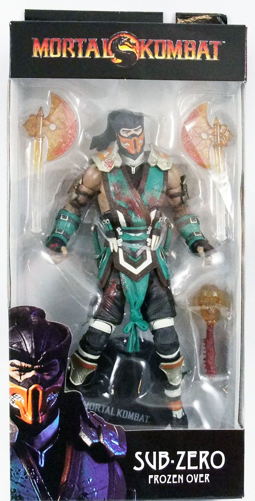 "Mortal Kombat - Sub-Zero \""Frozen Over\"" - Figurine 18cm McFarlane Toys"