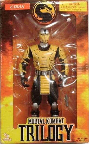 Mortal Kombat Trilogy - Cyrax - Toy Island 12'' figure