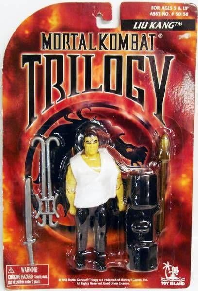 Mortal Kombat Trilogy - Liu Kang - Figurine 13cm Toy Island