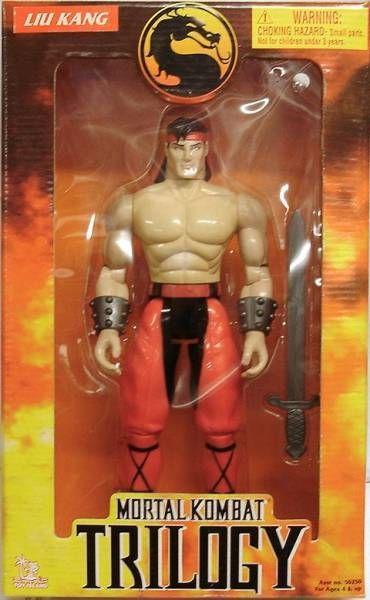 Mortal Kombat Trilogy - Liu Kang - Toy Island 12'' figure