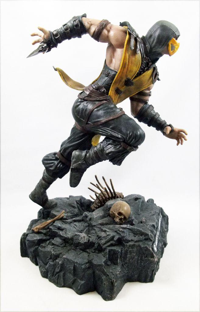 Mortal Kombat X Scorpion Pure Arts 11 Pvc Statue