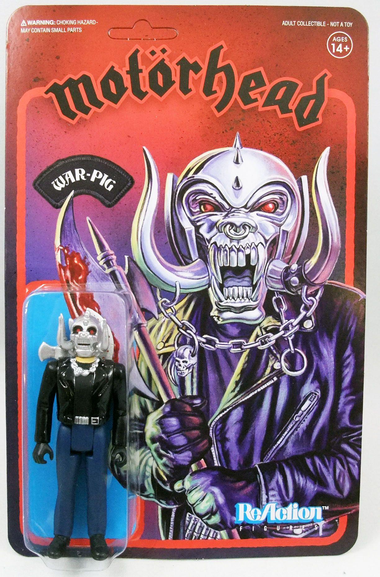 Motörhead - Super7 ReAction Figure - War-Pig