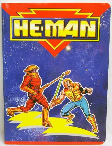 MOTU - Cahier d\'écolier - He-Man & Flogg (Musclor vs. Brakk)