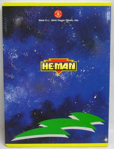 MOTU - Cahier d\'écolier - He-Man & Slush Head (Musclor vs. Kalamarr)